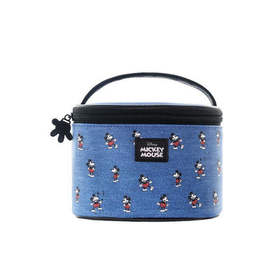 Genuine Mickey Mouse Makeup-Bag, Storage Bag -Blue 1928Mickey E(1pc)