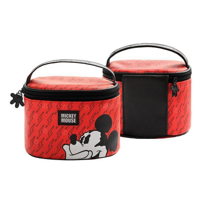 Genuine Mickey Mouse Makeup-Bag, Storage Bag -Red 1928Mickey E(1pc)