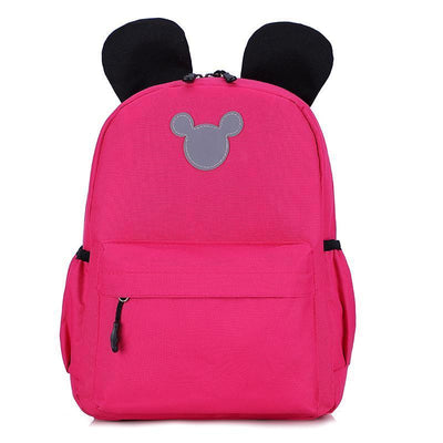 Cute 3M Reflective Waterproof Mickey Style Backpack Backpack 1928Mickey Pink