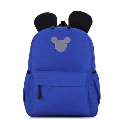 Cute 3M Reflective Waterproof Mickey Style Backpack Backpack 1928Mickey Navy Blue