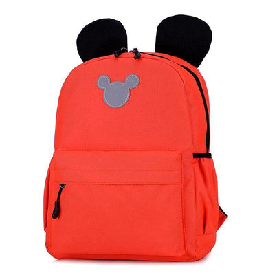 Cute 3M Reflective Waterproof Mickey Style Backpack Backpack 1928Mickey