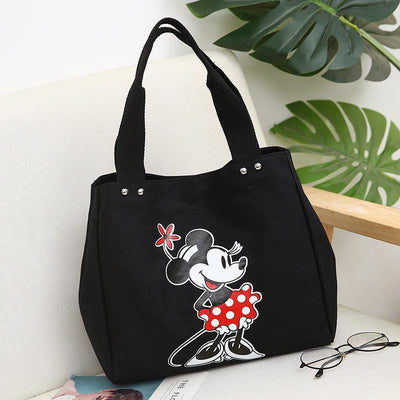 Mickey and Minnie canvas large capacity shoulder bag - Handbag - 1928Mickey