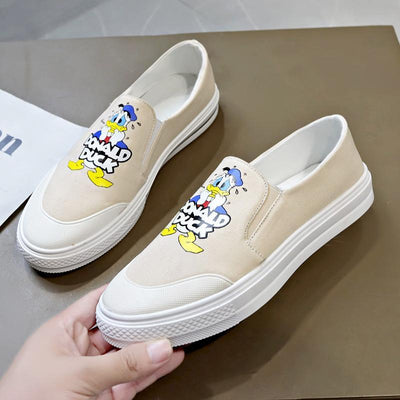 Donald Duck Summer Canvas Shoes 1928Mickey