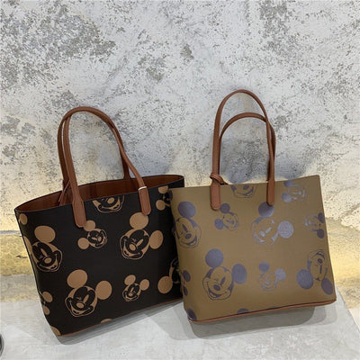 3Pcs/Set Mickey Mouse Classic Leather Bags *2 Style Option 1928Mickey