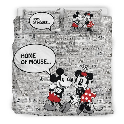 Mickey & Minnie Disney Bedding Set 11 Accessories 1928Mickey King