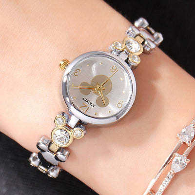 Mickey Mouse Luxury Watch Accessories 1928Mickey Gold Silver