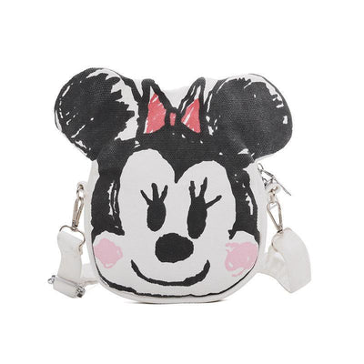 Summer Cartoon Minnie Mouse & Donald Duck Crossbody Bag 1928Mickey Minnie Mouse