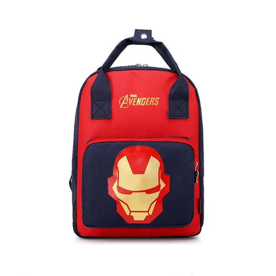 Mickey Minnie & Avengers Bags For Kids Backpack 1928Mickey Iron Man -01