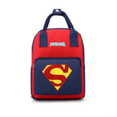 Mickey Minnie & Avengers Bags For Kids Backpack 1928Mickey Superman -01