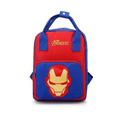 Mickey Minnie & Avengers Bags For Kids Backpack 1928Mickey Iron Man -02