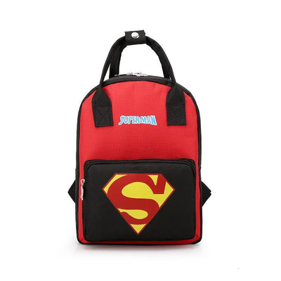 Mickey Minnie & Avengers Bags For Kids Backpack 1928Mickey Superman -02