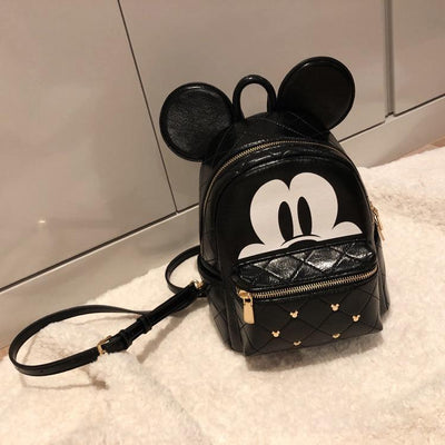 Mickey Mouse Leather Rivet Backpack Backpack 1928Mickey