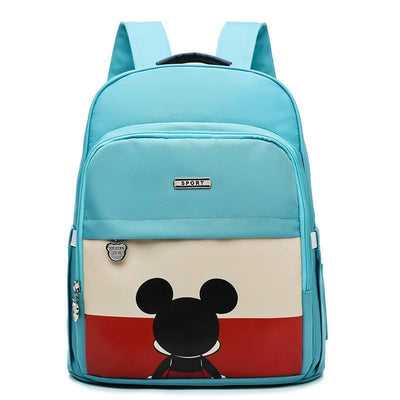 Mickey Waterproof Fashion multi-function large capacity diaper bag Diaper Bag 1928Mickey Light Blue