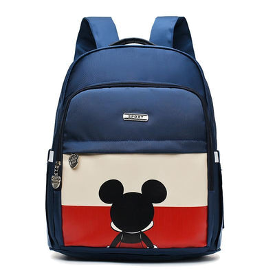 Mickey Waterproof Fashion multi-function large capacity diaper bag Diaper Bag 1928Mickey Blue