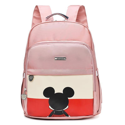 Mickey Waterproof Fashion multi-function large capacity diaper bag Diaper Bag 1928Mickey Pink
