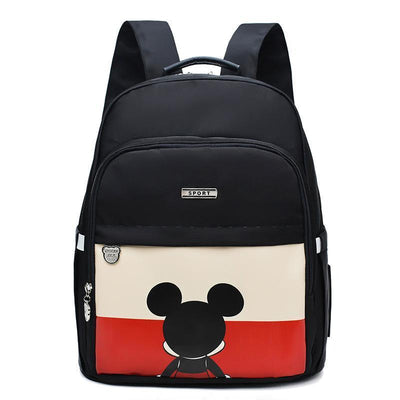Mickey Waterproof Fashion multi-function large capacity diaper bag Diaper Bag 1928Mickey Black
