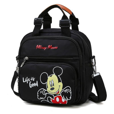 Mickey & Minnie Waterproof Multi-Function Large Capacity Bag - Crossbody Bag - 1928Mickey