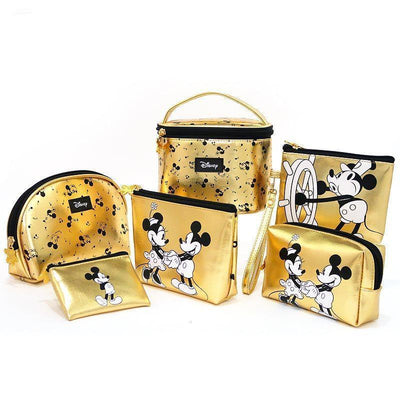 Genuine Cute Mickey Mouse Makeup-Bag, Storage Bag Bag set 1928Mickey ALL(6pcs)