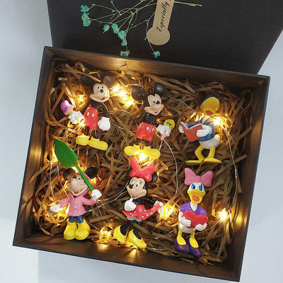 Mickey Mouse Model Set *Limited Edition 1928Mickey A(6 PCS)
