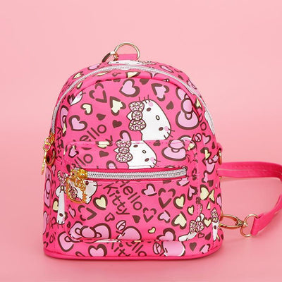 Pink Kitty Waterproof Backpack -  - 1928Mickey