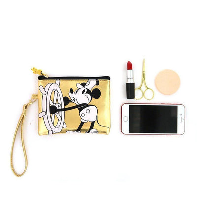Genuine Cute Mickey Mouse Makeup-Bag, Storage Bag Bag set 1928Mickey F(1pc)