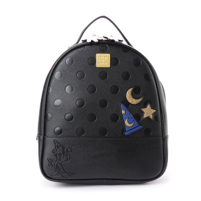 Cute Minnie Style Leather Backpack Backpack 1928Mickey Black