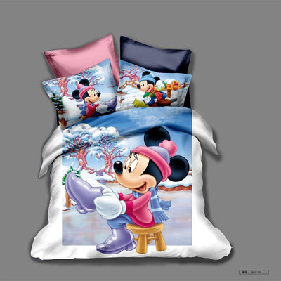 Mickey & Minnie Bedding Set 28 Bedding Set 1928Mickey Twin A