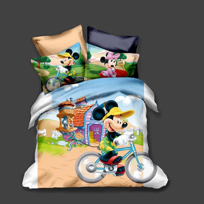 Mickey & Minnie Bedding Set 28 Bedding Set 1928Mickey Twin D