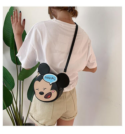 Cute Mickey & Minnie Mouse Crossbody Bag Crossbody Bag 1928Mickey Mickey Mouse
