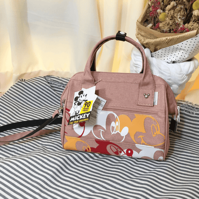 Mickey Waterproof Multi-Fuction Large Capacity Bag Crossbody Bag 1928Mickey Pink