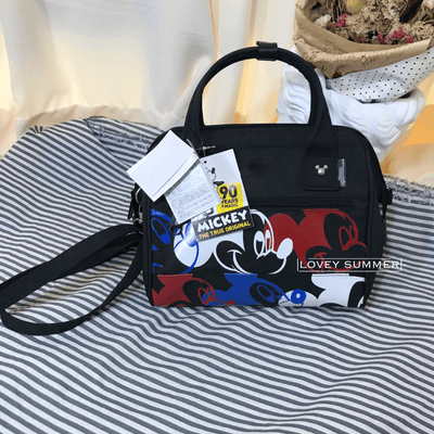 Mickey Waterproof Multi-Fuction Large Capacity Bag Crossbody Bag 1928Mickey Black