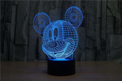 Mickey Mouse 3D LED Lamp Accessories 1928Mickey
