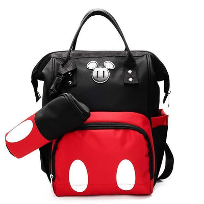 2PCS / Set Mouse Large Capacity Diaper Backpack Backpack 1928Mickey