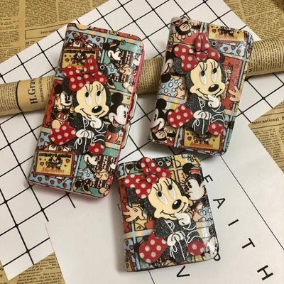 Mickey Cartoon Coin Purse For Women Wallets 1928Mickey