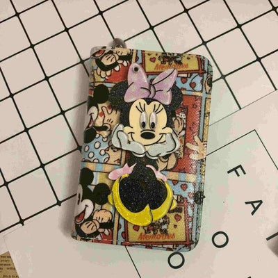 Mickey Cartoon Coin Purse For Women Wallets 1928Mickey A
