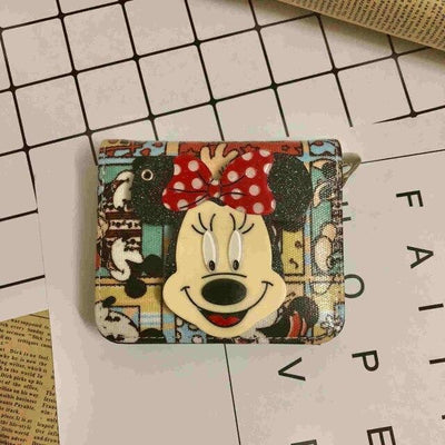 Mickey Cartoon Coin Purse For Women Wallets 1928Mickey D