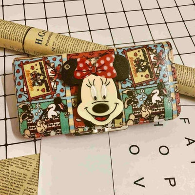 Mickey Cartoon Coin Purse For Women Wallets 1928Mickey F