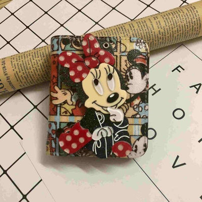Mickey Cartoon Coin Purse For Women Wallets 1928Mickey G