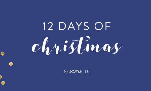 Neonmello 12 Days Christmas Giveaway 2016
