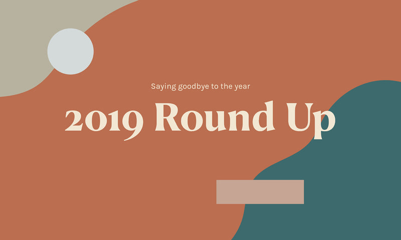 2019 is coming to an end - here's a roundup of our year!