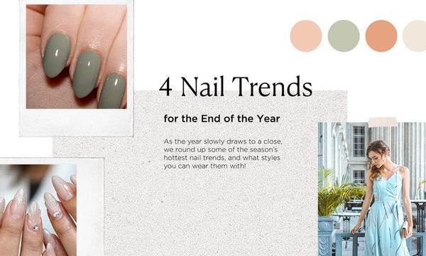 4 NAIL TRENDS SPOTTED FOR THE FESTIVE SEASON AHEAD! 💅✨