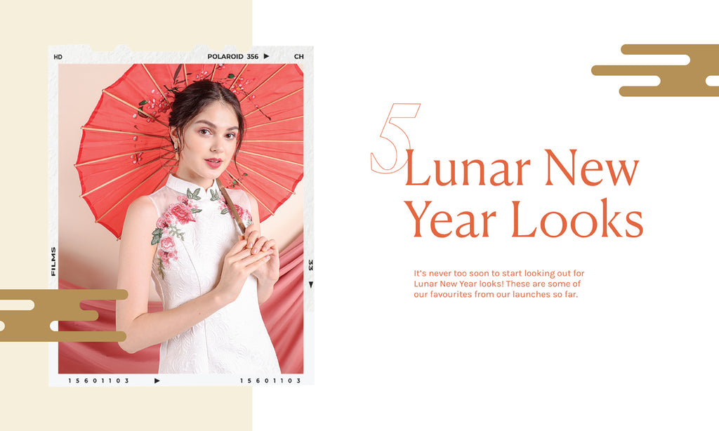 🧧 Here's 5 - Let's get started on CNY outfits! 🧧