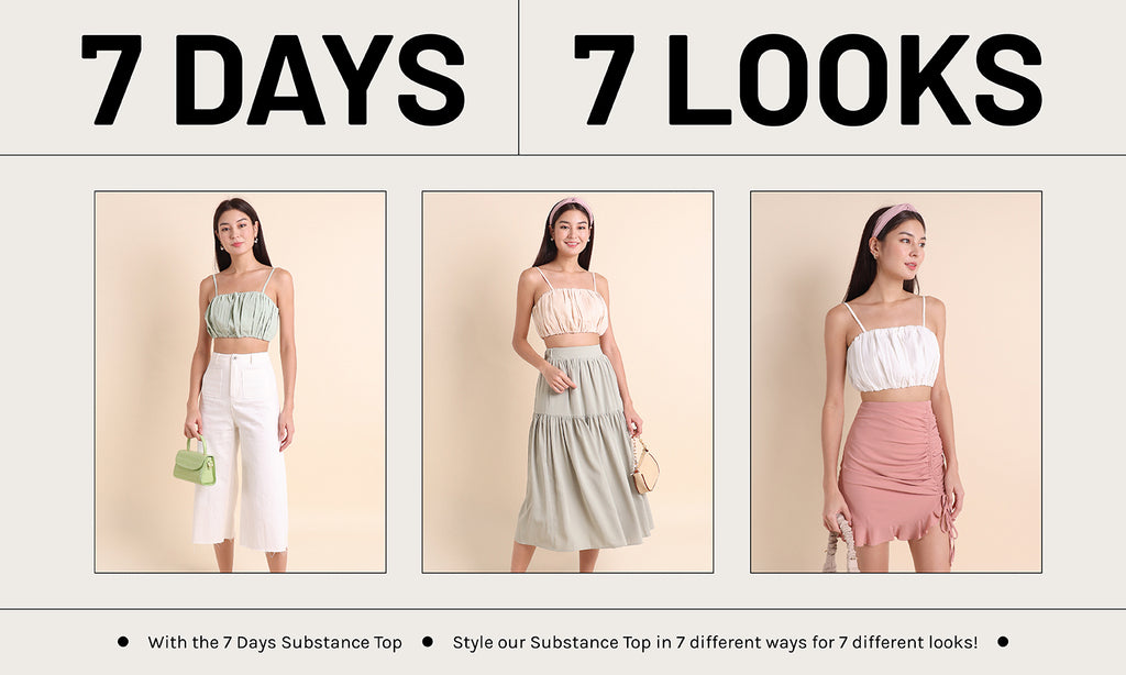 7 Days 7 Looks - The 7 DAYS Substance Top!