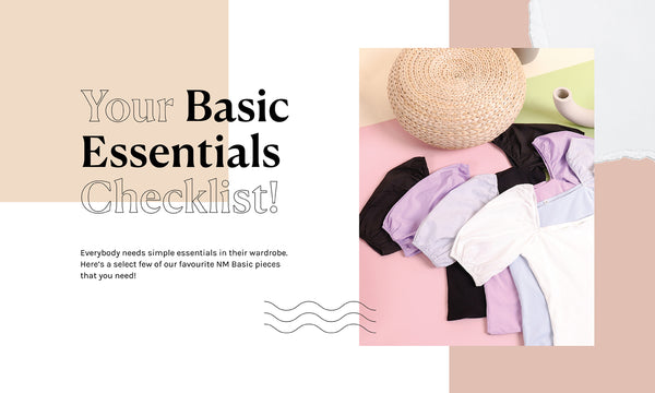 Your Basic Essentials Checklist!