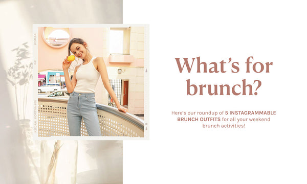 🍳 5 INSTAGRAMMABLE BRUNCH OUTFITS – what's for brunch? 🍳