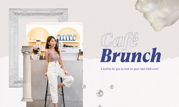5 Café Outfits For Your Brunches!