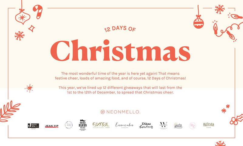❄ NM 12 DAYS CHRISTMAS GIVEAWAY 2019 ❄