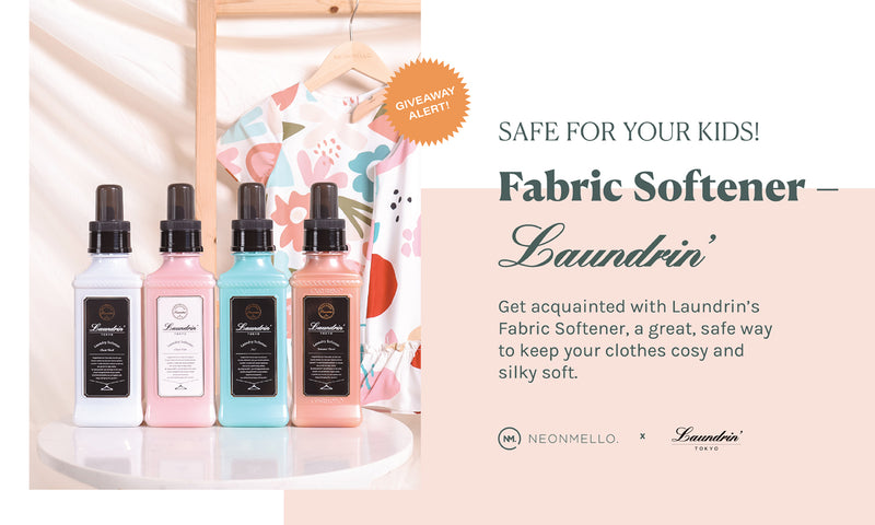 Premium Perfume Softener – Laundrin – Safe for your KIDS! + Giveaway ☆彡