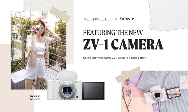 NM X SONY SINGAPORE: Featuring the New ZV-1 Camera!