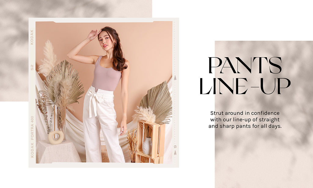 The Pants Line-up – put on your positive pants!